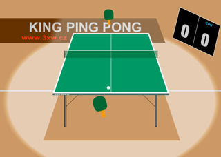 jeux flash ping pong